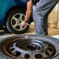 tire-changing